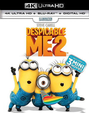 Despicable Me 2 UV 4K