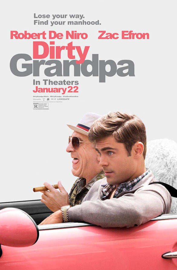 Dirty Grandpa VUDU HD or iTunes 4K