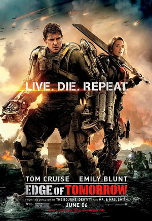 Edge of Tomorrow UV HD or iTunes HD via Movies Anywhere