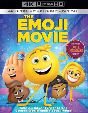 The Emoji Movie UV 4k or iTunes 4K (Now 4K in VUDU)