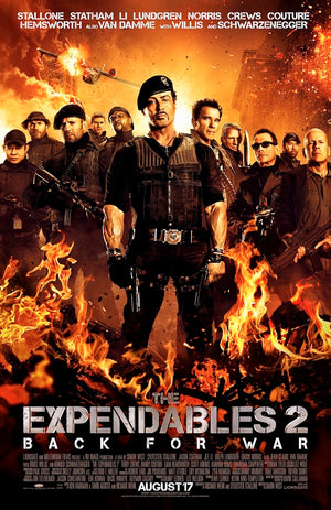 The Expendables 2 VUDU HD