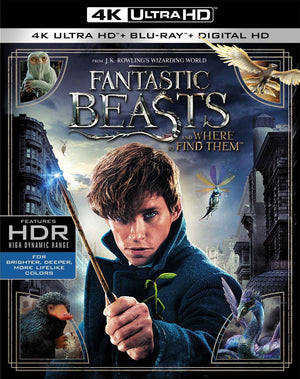 Fantastic Beasts and Where to Find Them VUDU 4K or iTunes 4K via MA
