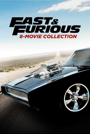 Fast and The Furious 8-Movie Collection VUDU HD