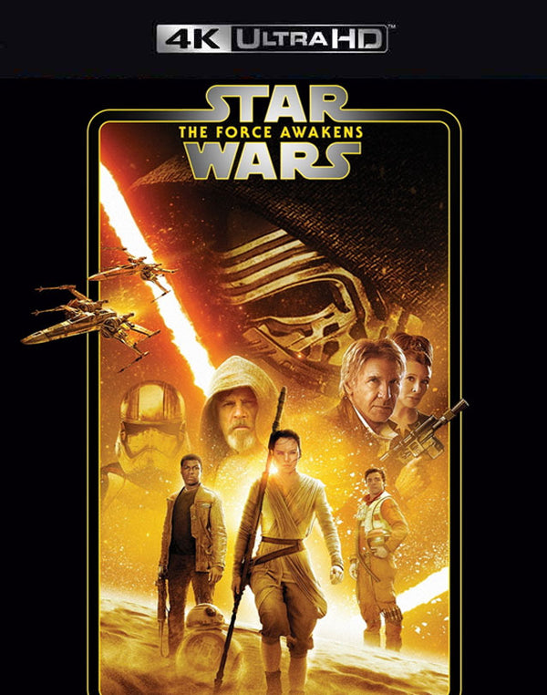 Star Wars The Force Awakens iTunes 4K (VUDU 4K via MA)