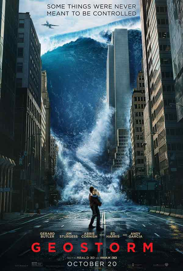 Geostorm VUDU HD or iTunes HD via Movies Anywhere