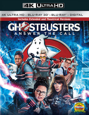 Ghostbusters 2016 VUDU 4K or iTunes 4K via Movies Anywhere