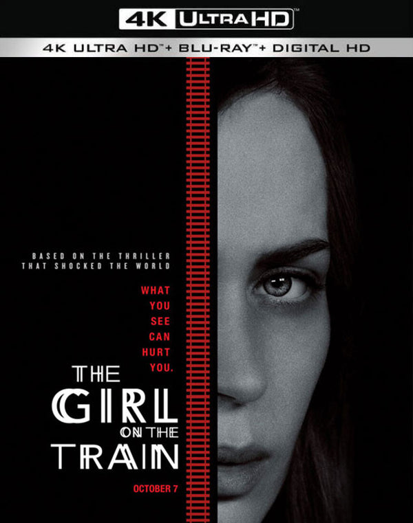 The Girl on the Train UV 4K