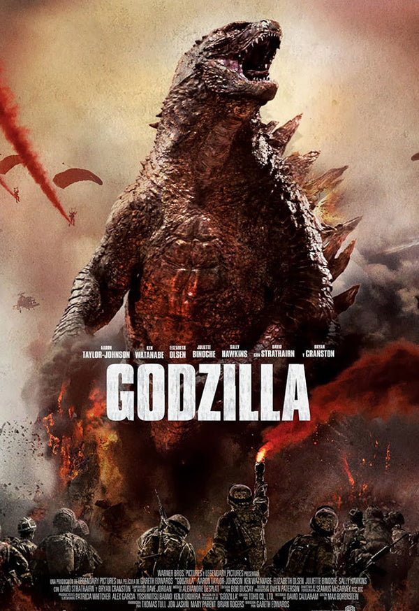Godzilla VUDU HD or iTunes HD via MA