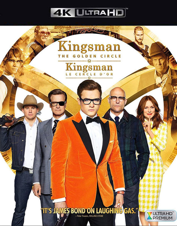 Kingsman the Golden Circle VUDU 4k Through iTunes 4K