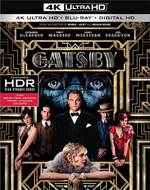 The Great Gatsby VUDU 4K or iTunes 4K Via Movies Anywhere