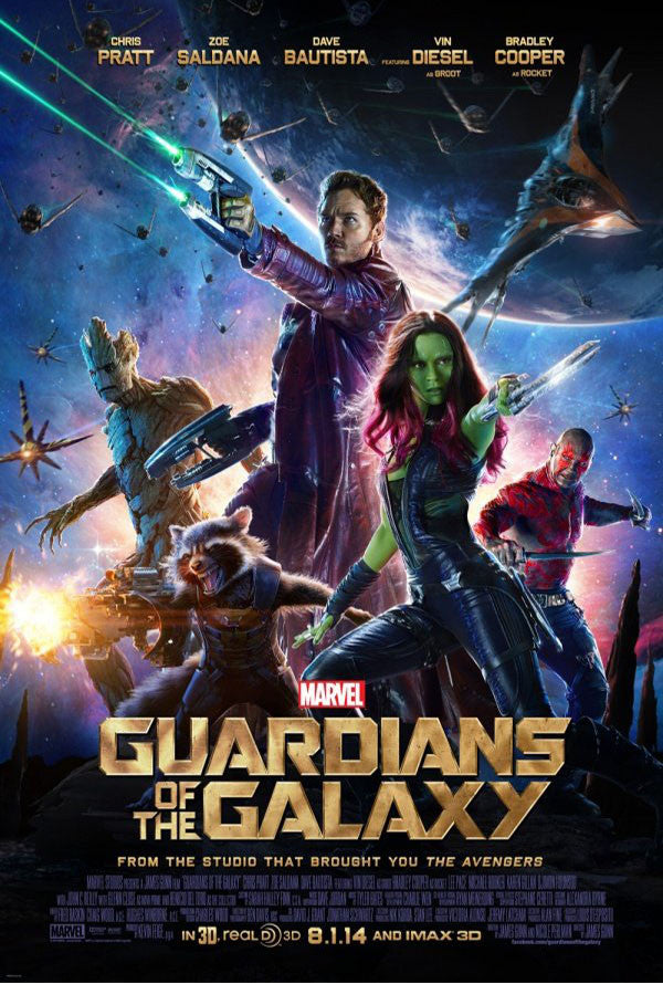 Guardians of the Galaxy MA VUDU iTunes HD