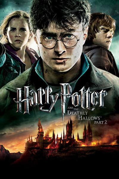 Harry Potter and the Deathly Hallows Part 2 UV SD or iTunes SD via Movies Anywhere