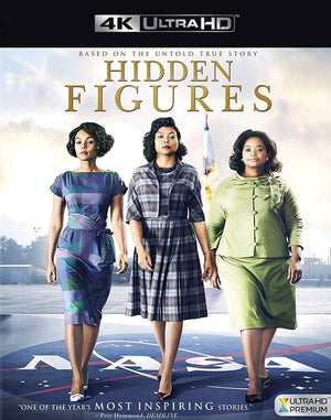 Hidden Figures VUDU 4K Through iTunes 4K