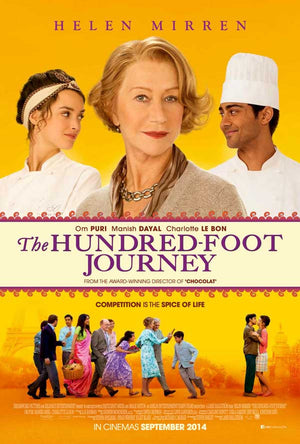 The Hundred Foot Journey UV HD, iTunes HD or Google Play HD