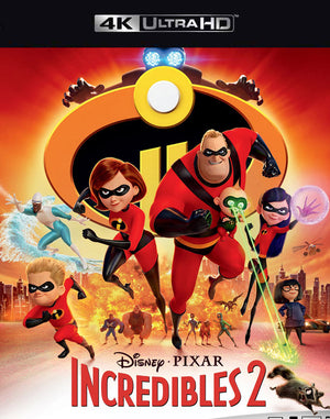 Incredibles 2 MA VUDU 4K iTunes 4K