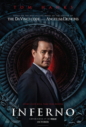 Inferno UV HD or iTunes HD via Movies Anywhere