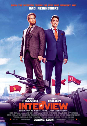 The Interview UV HD or iTunes HD via Movies Anywhere