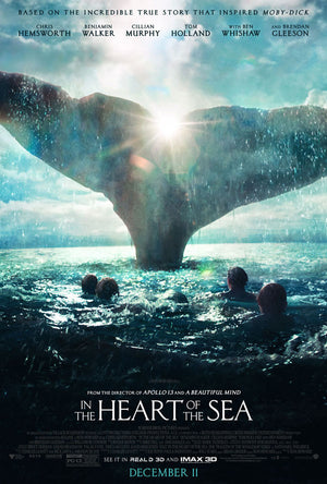 In the Heart of the Sea VUDU HD or iTunes HD via Movies Anywhere
