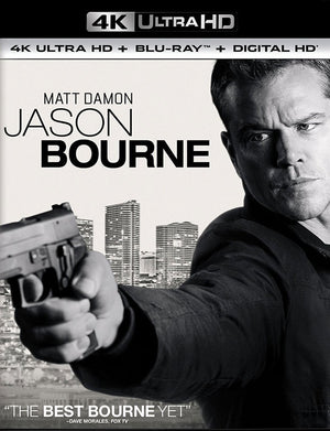 Jason Bourne VUDU 4K