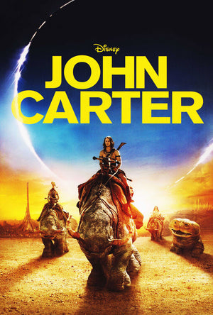 John Carter from Mars iTunes HD VUDU HD via MA