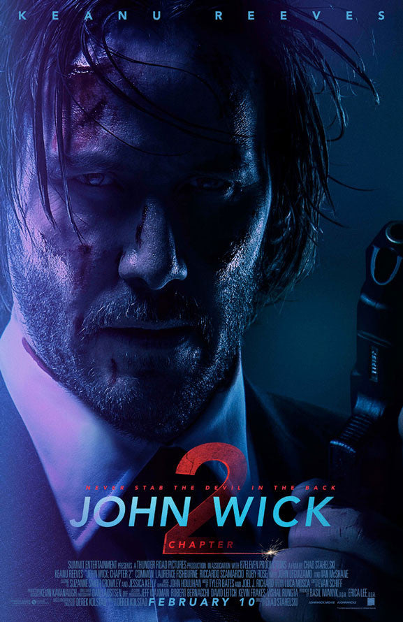 John Wick Chapter 2 VUDU HD Instawatch