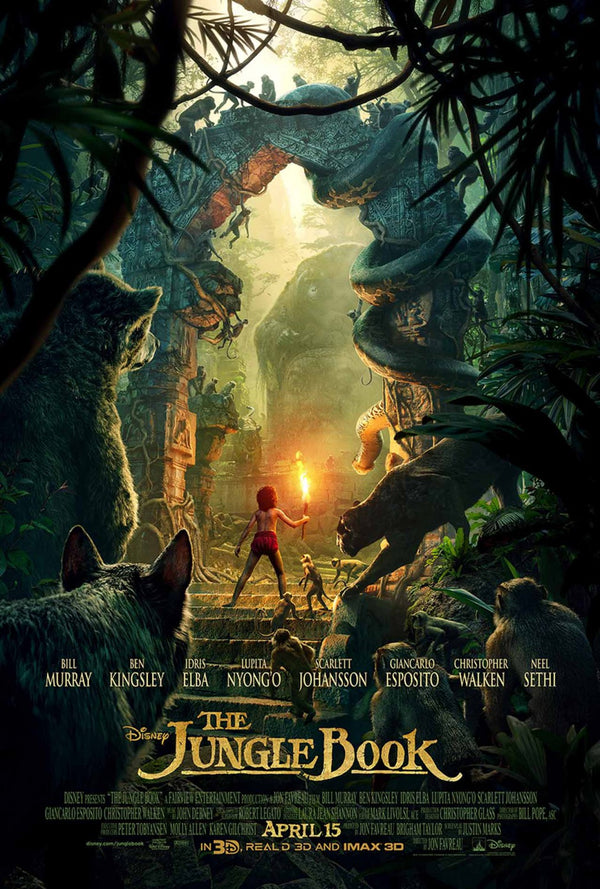 Jungle Book 2016 MA iTunes HD VUDU
