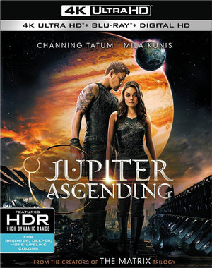 Jupiter Ascending VUDU 4K or iTunes 4K via Movies Anywhere