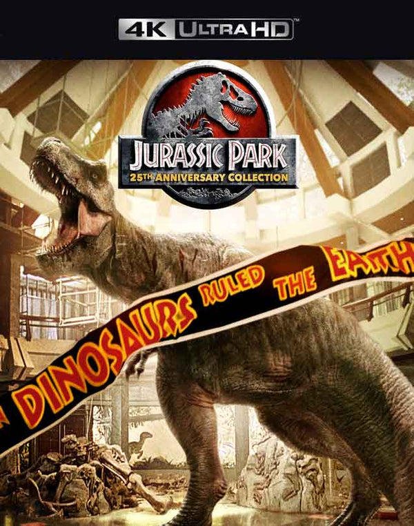 Jurassic Park Collection VUDU 4K and iTunes 4K via Movies Anywhere