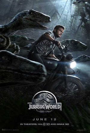 Jurassic World VUDU HD or iTunes HD via Movies Anywhere