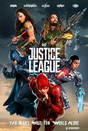 Justice League UV HD or iTunes HD Via Movies Anywhere