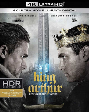 King Arthur Legend of the Sword UV 4K or iTunes 4K via Movies Anywhere