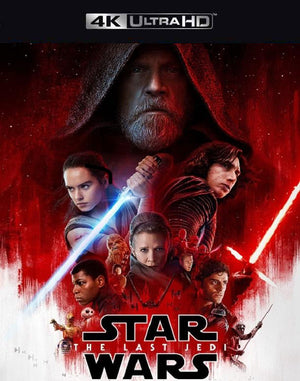 Star Wars The Last Jedi iTunes 4K (VUDU 4K via MA)