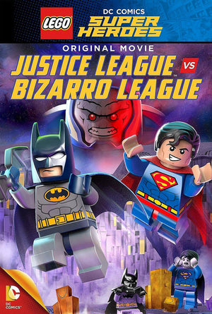 LEGO: DC – Justice League vs Bizarro League VUDU HD or iTunes HD via MA