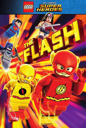Lego Super Heroes The Flash UV HD or iTunes HD via Movies Anywhere