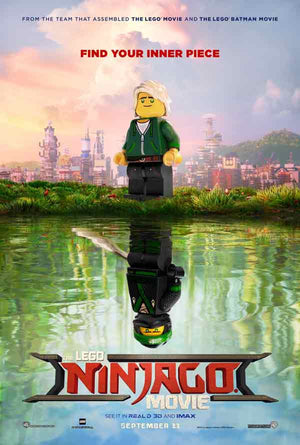 The Lego Ninjago Movie UV HD or iTunes HD via Movies Anywhere
