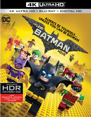The Lego Batman Movie VUDU 4K or iTunes 4K via Movies Anywhere