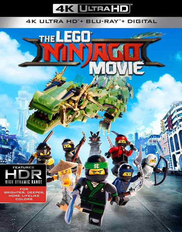 The Lego Ninjago Movie UV 4K or iTunes 4K Via Movies Anywhere