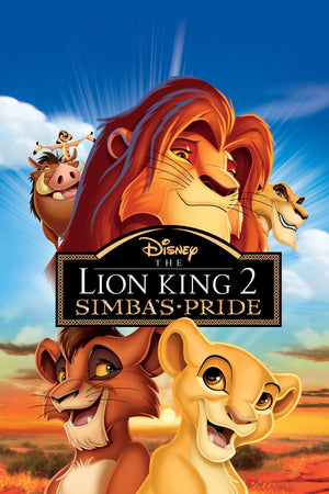 The Lion King 2 Simba's Pride DMA Vudu, iTunes Google Play