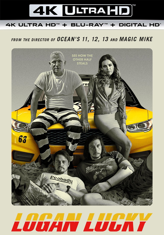 Logan Lucky UV 4K