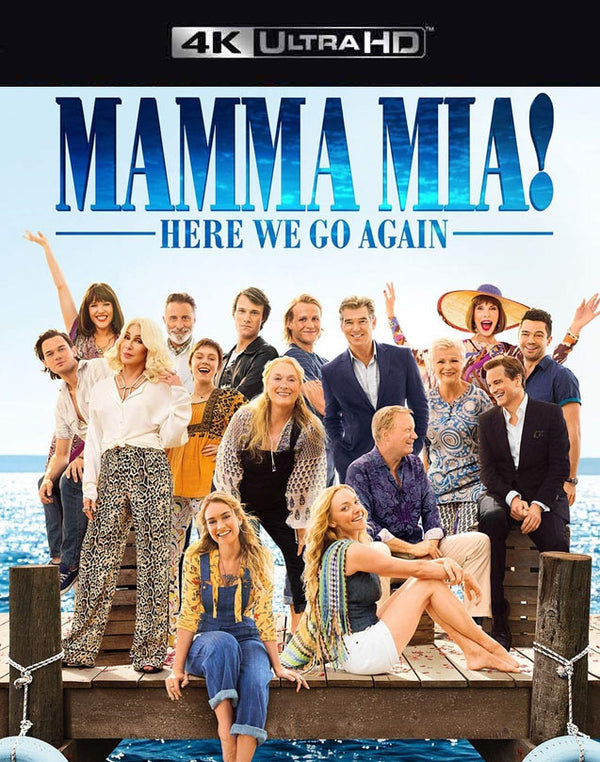 Mamma Mia!  Here we Go Again VUDU 4K or iTunes 4K via Movies Anywhere