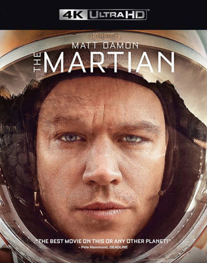 The Martian VUDU 4K through iTunes 4K