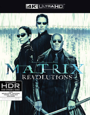 Matrix Revolutions 4K VUDU 4K or iTunes 4K via Movies Anywhere