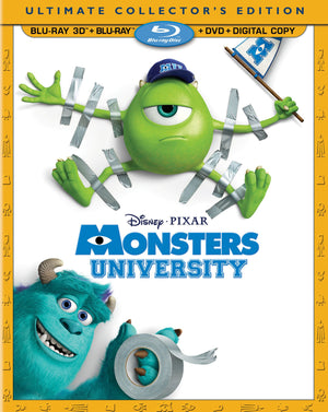 Monster's University Blu-ray + DVD No Digital No 3D