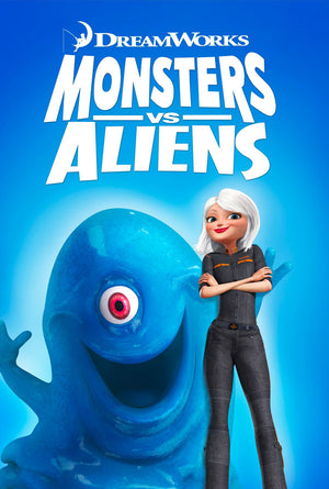 Monsters VS Aliens VUDU HD or iTunes HD Via Movies Anywhere