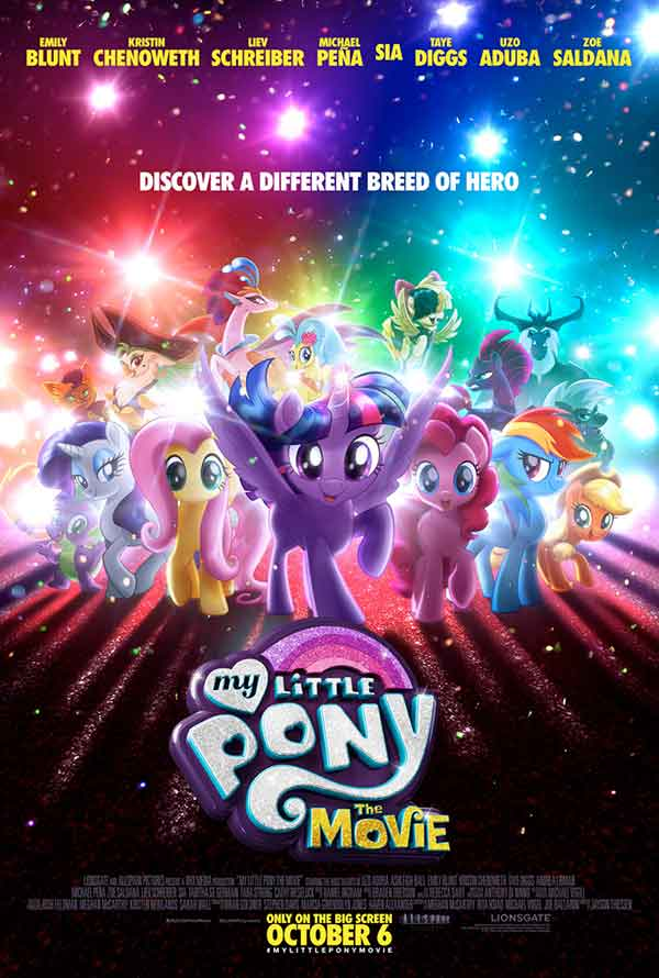 My Little Pony: The Movie UV HD or iTunes HD