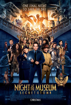 Night at the Museum: Secret of the Tomb UV HD or iTunes 4K