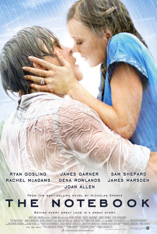 The Notebook VUDU HD or iTunes HD via Movies Anywhere