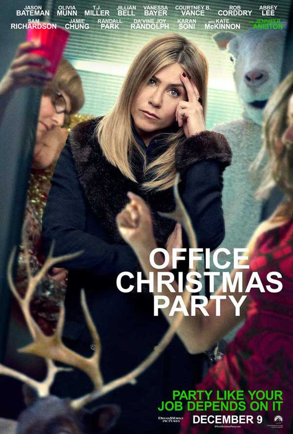 Office Christmas Party UV HD