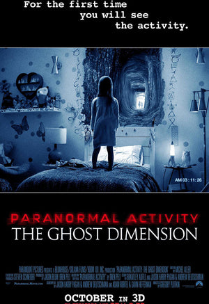 Paranormal Activity 6: The Ghost Dimension iTunes HD