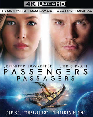 Passengers UV 4k or iTunes 4K via Movies Anywhere